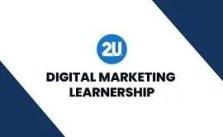 2U Digital Marketing Learnership 2021 Is Open 2021 Is Open