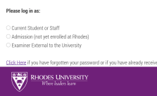 Rhodes University Online Applications 2022 | Apply to RU Now