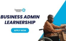 Business Admin Learnership with Tusanang 2021 Is Open