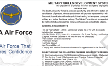 South African Air Force Training Programme 2022