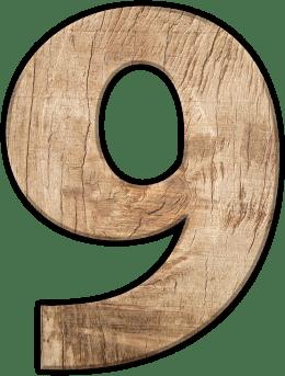 Числата в сънищата - Девет