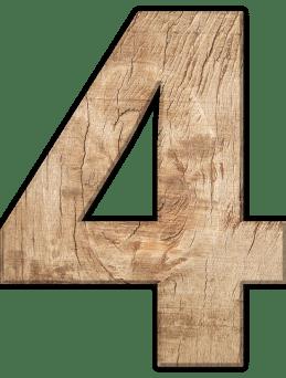 Числата в сънищата - Четири