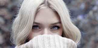 красиво лице