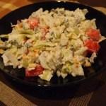Вкусна ароматна салата