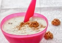 закуска с орехи мед кисело мляко и прополис