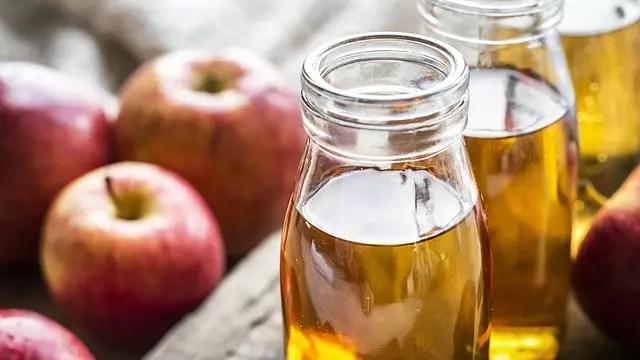Ябълков оцет отпушва носа