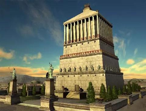 Мавзолей в Халикарнас