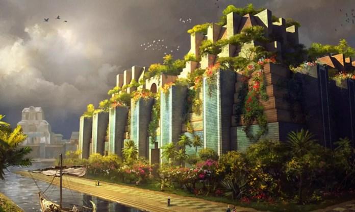 Висящи градини на Вавилон
