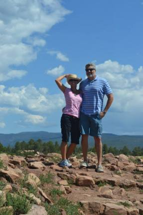 Joe and Tammy in New Mexico