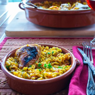 Arroz con Pollo (Chicken and Rice Casserole)