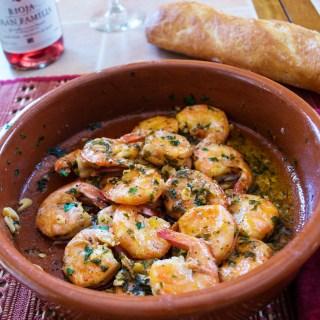 Gambas Al Ajillo (Garlic Shrimp)