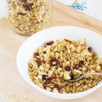 Cranberry Almond Cereal