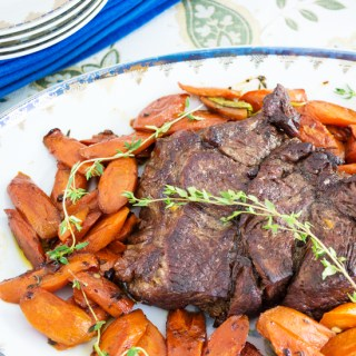 Roasted Beef with Carrots