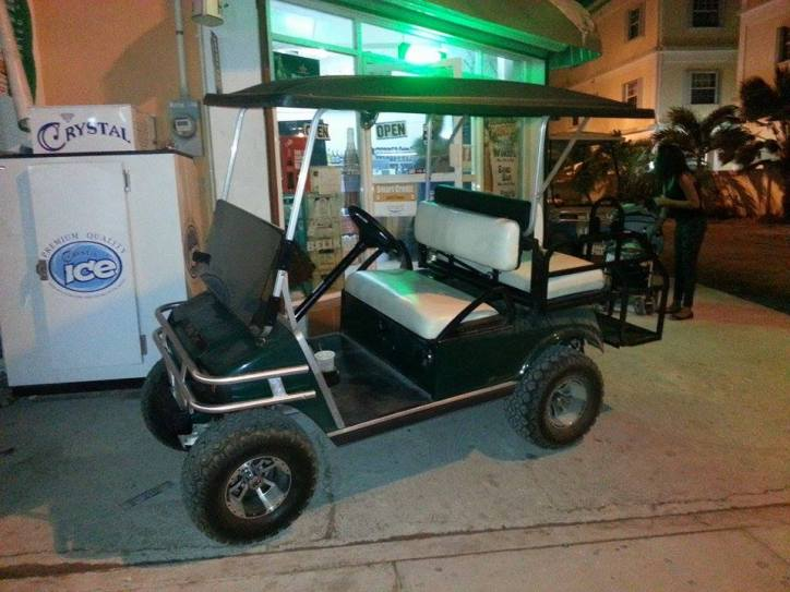 Golf Cart Rentals in San Pedro, Ambergris Caye, Belize