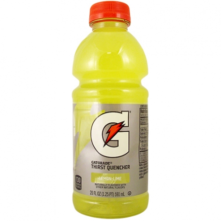 Gatorade G Series Lemon Lime 20 oz
