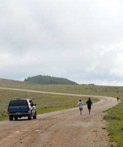 Staff of Compass Academy in Moroni, and other various youth residential treatment centers, follow along as the boys learn the value of hard work and being a team player in a 28.1 mile race up Skyline Drive.