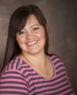 Angie Stewart, mother of four, was granted one of the $1,000 Rocky Mountain Power Foundation scholarships.