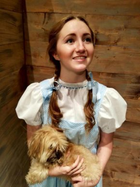 """North Sanpete High Junior Shinohe Lee is Dorothy Gale in the upcoming musical production """"The Wizard of Oz"""""""