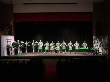 Utah Valley University's Green Man Group formed a drumline to kickoff the activites for Utah College Application Week, an initiative to get students prepared for college.