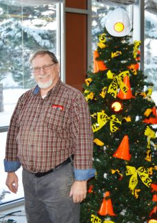 David Brown is the new curator at the Fairview Museum and as one of his first goals on the job is to start a new holiday tradition in Sanpete that provides fully-decorated Christmas trees to needy families.