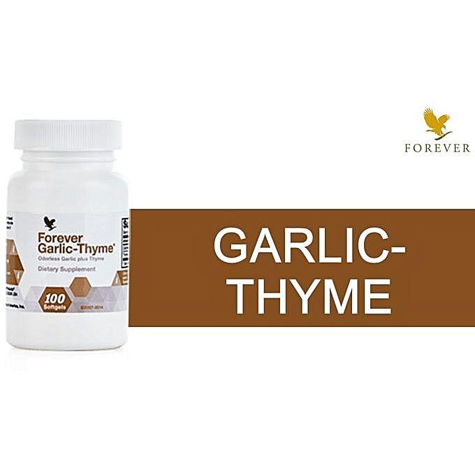 Viên Tỏi Forever Garlic Thyme 065 Flp Tỏi Chống Cảm Cúm, Nấm, Virut, Tăng Sức Đề Kháng, Hệ Miễn Dịch