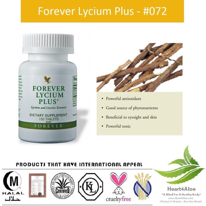 Forever Lycium Plus 072 Flp | Hỗ Trợ, Đường Tiêu Hóa