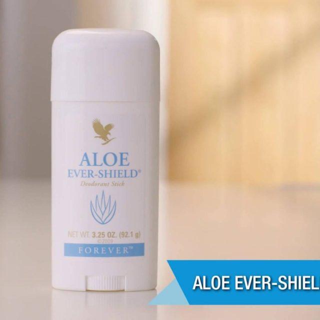 Công dụng của lăn khử mùi Aloe Ever-Shield 067 Flp