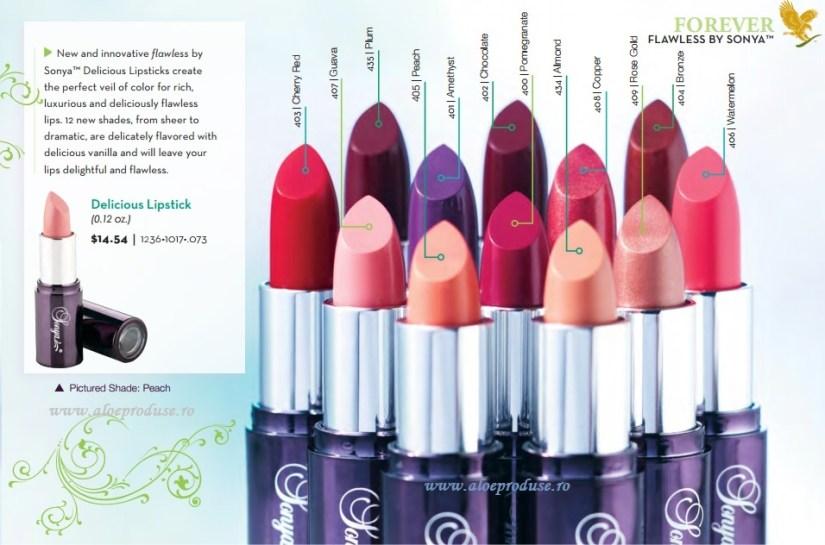 Delicious Lipstick son môi Lô Hội Aloe Vera 4