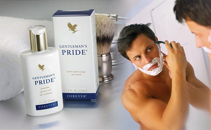 Tác dụng của Kem Dưỡng Da Sau Khi Cạo Râu Gentleman's Pride 070 Flp | Lô Hội Aloe Vera