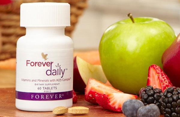 Forever Daily 349 Flp | viên bổ Rau, Củ, Quả, Vitamin và Khoáng Chất hàng ngày
