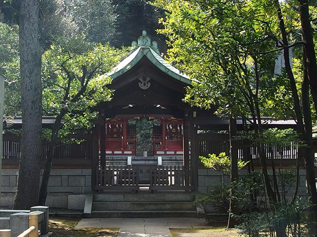 白金氷川神社写真
