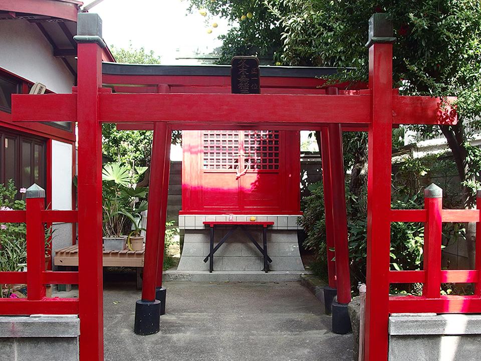 冬木森稲荷神社