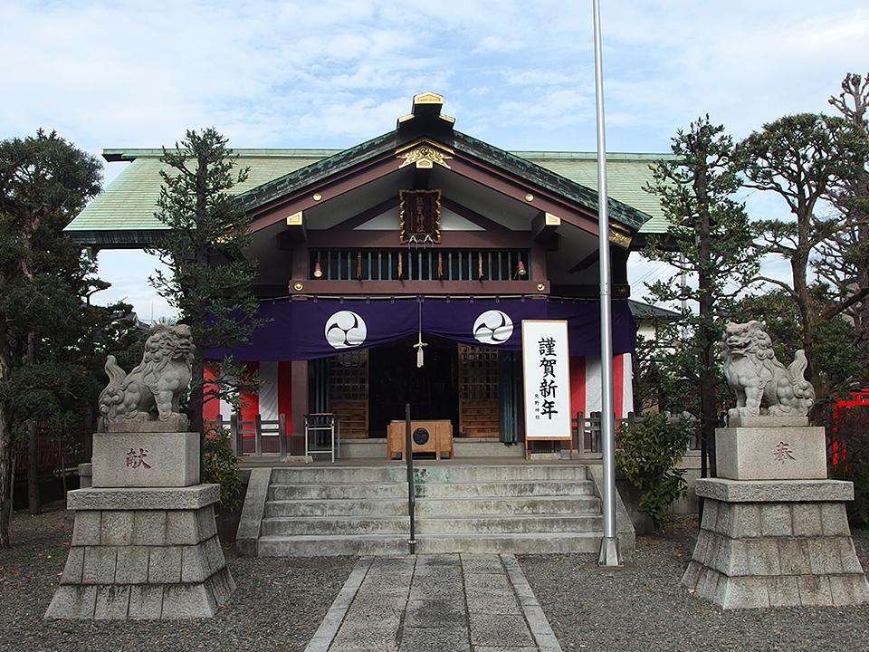 熊野神社(大田区西蒲田)