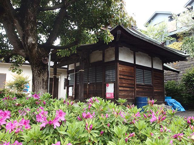 八幡神社(横浜市青葉区荏子田)写真