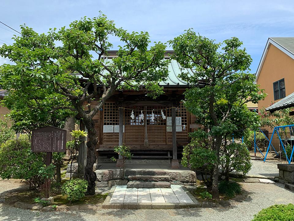 山角天神社