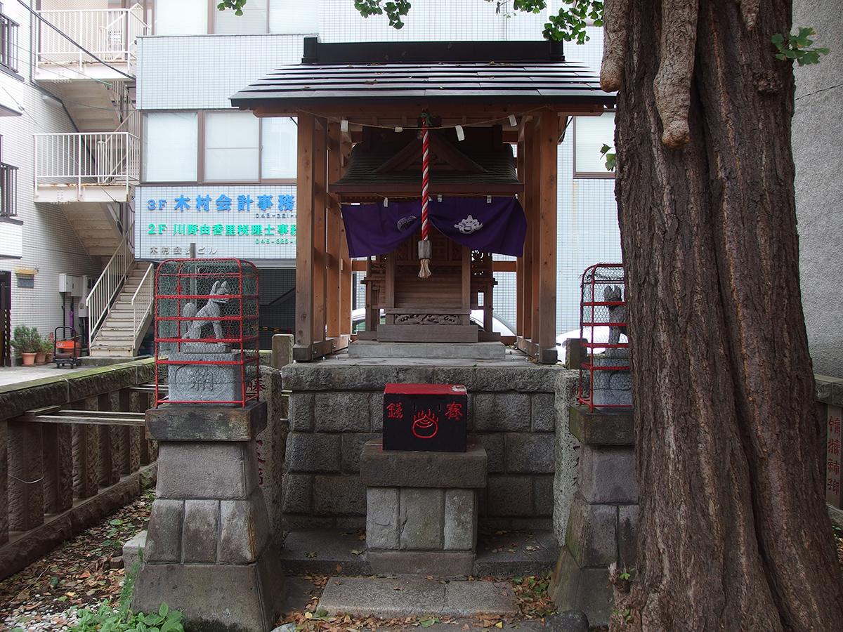二ツ谷稲荷神社写真