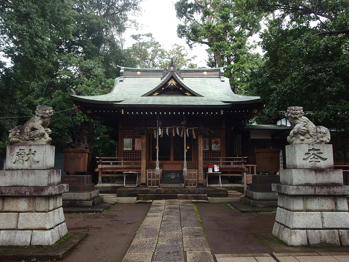 八雲氷川神社写真