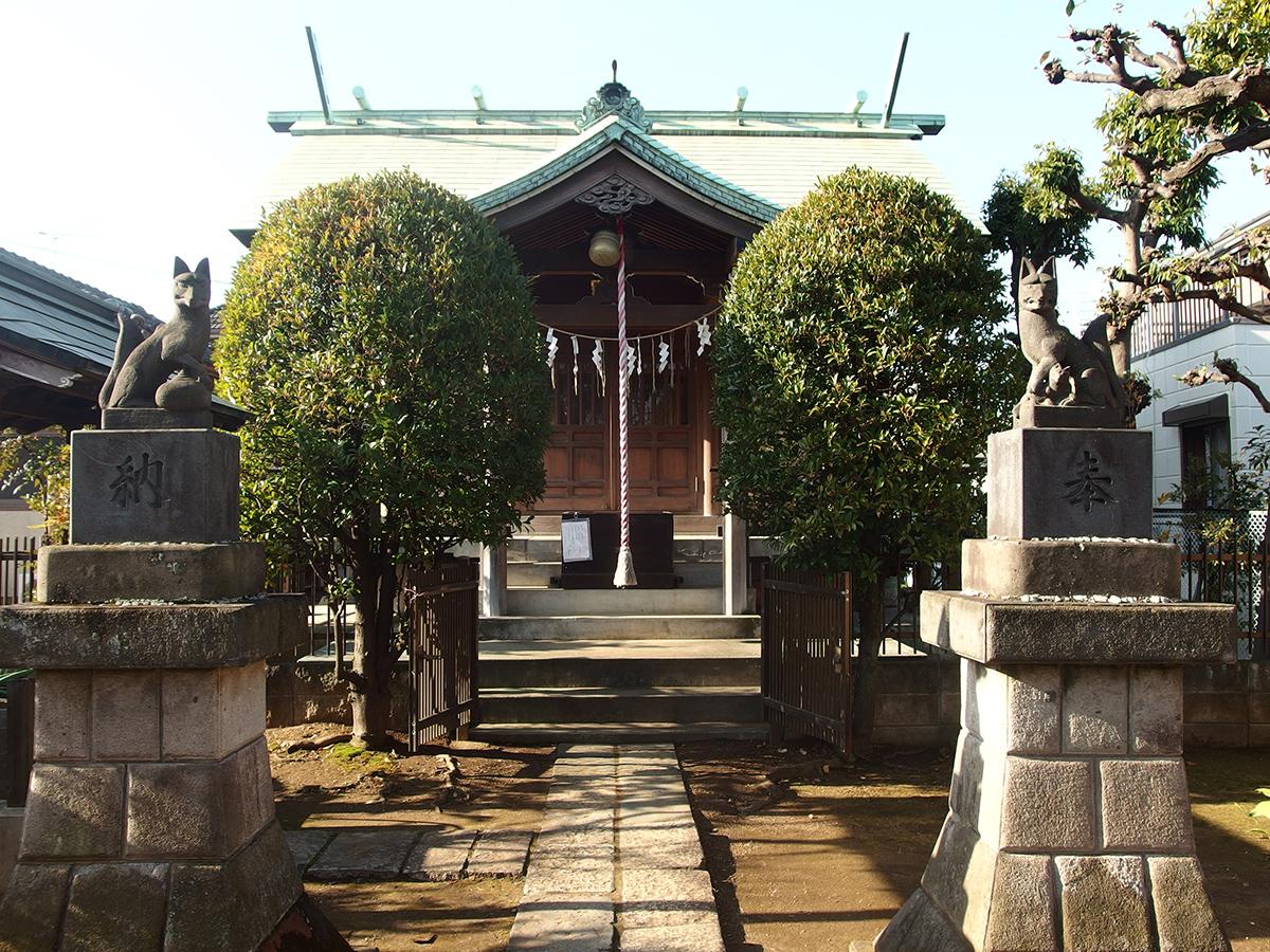 馬込西二稲荷神社写真