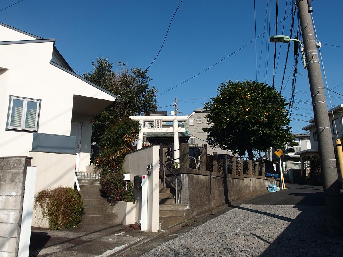 諏訪神社(大田区東馬込)写真