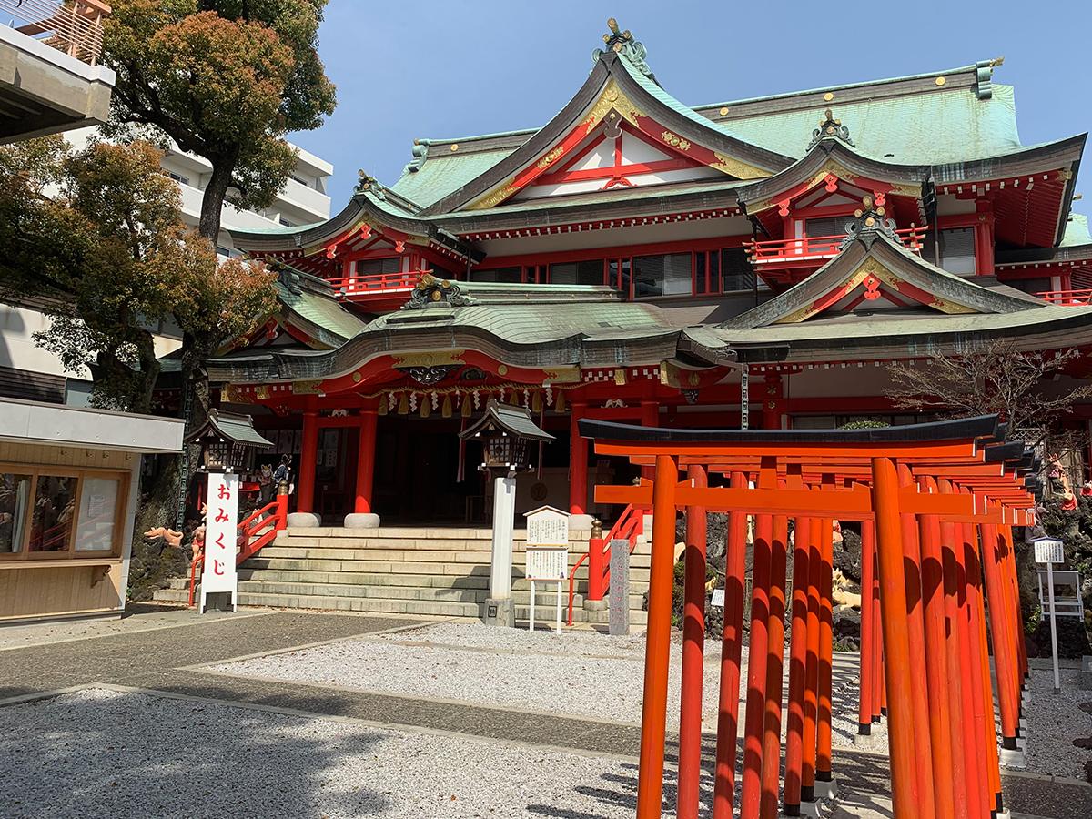 京浜伏見稲荷神社写真