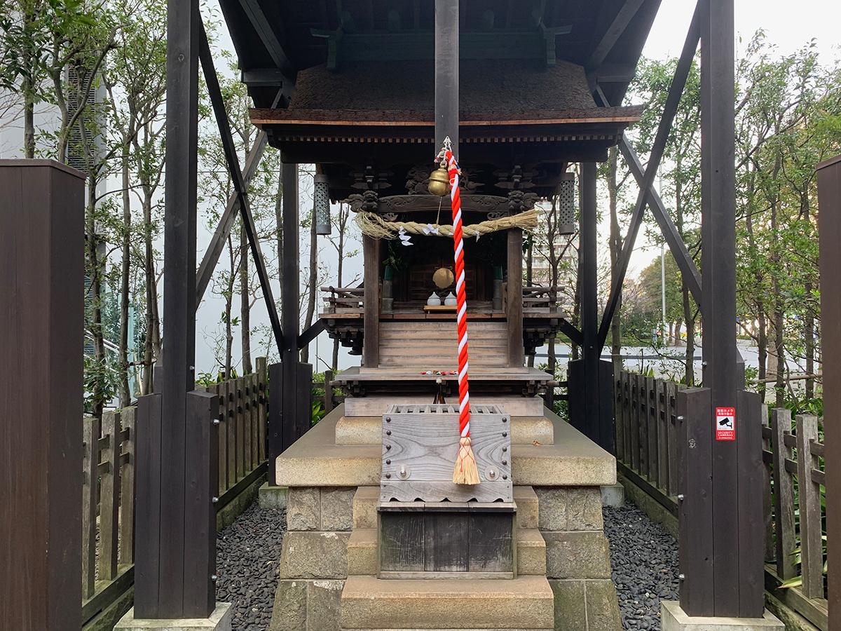 日電玉川稲荷神社写真