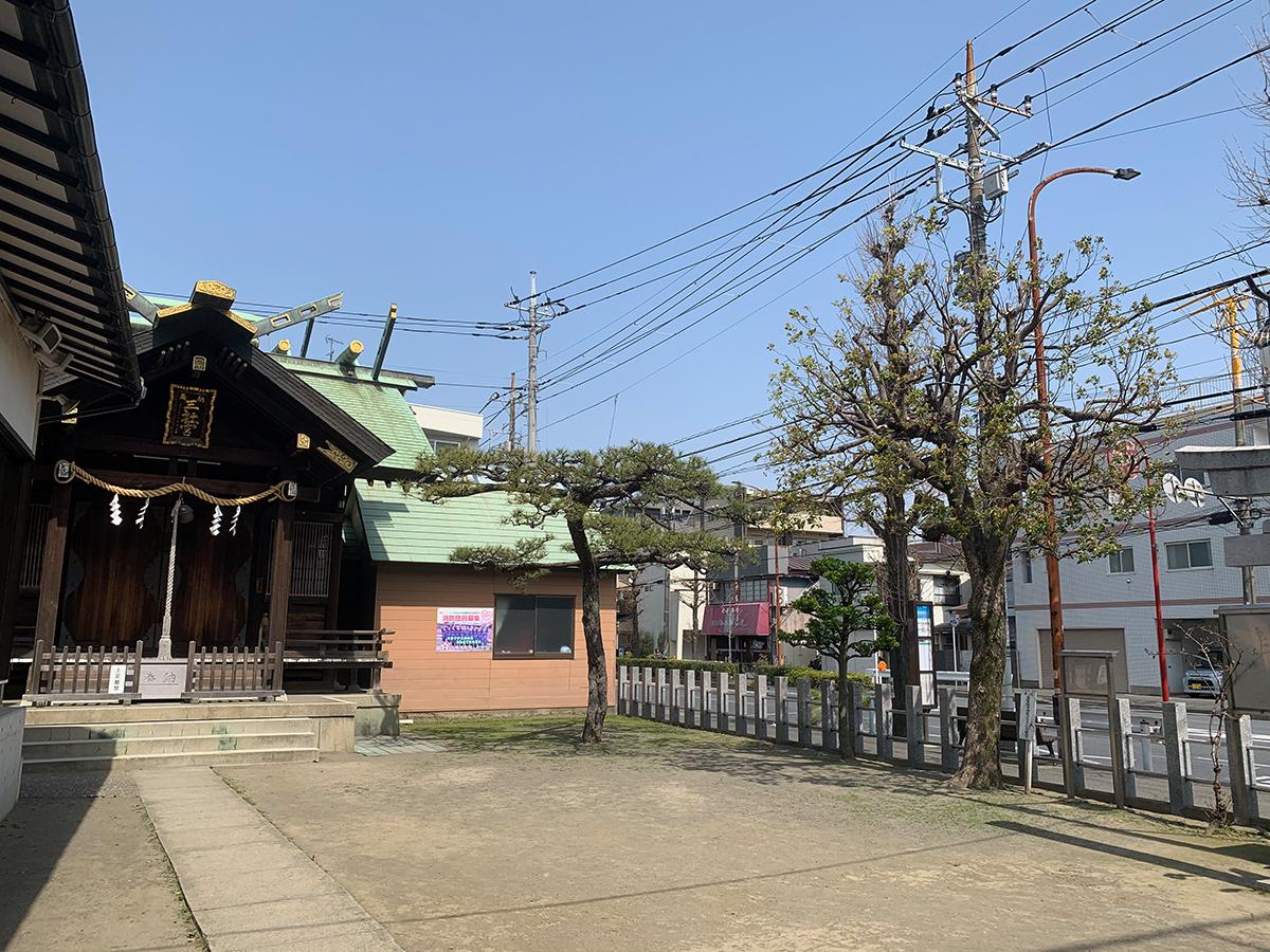 三社宮(川崎市中原区下沼部)写真