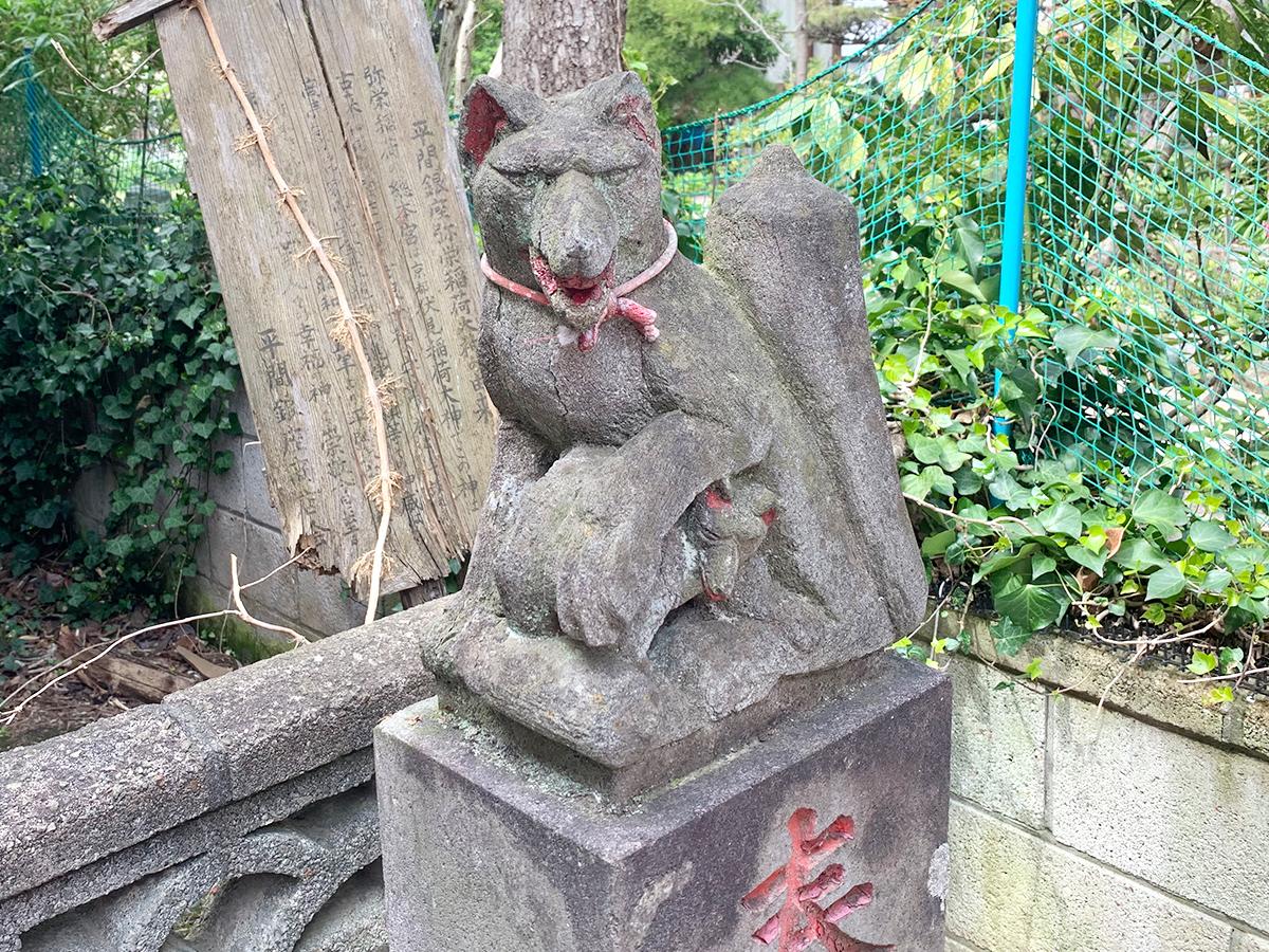 弥栄稲荷大神(川崎市中原区田尻町)写真