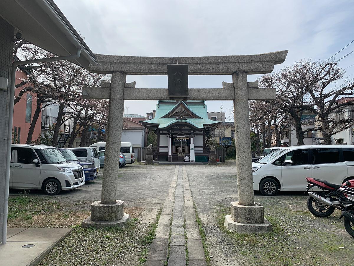 小向八幡神社写真