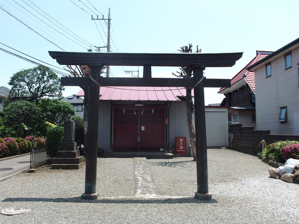 八坂神社(横浜市都筑区川和町)