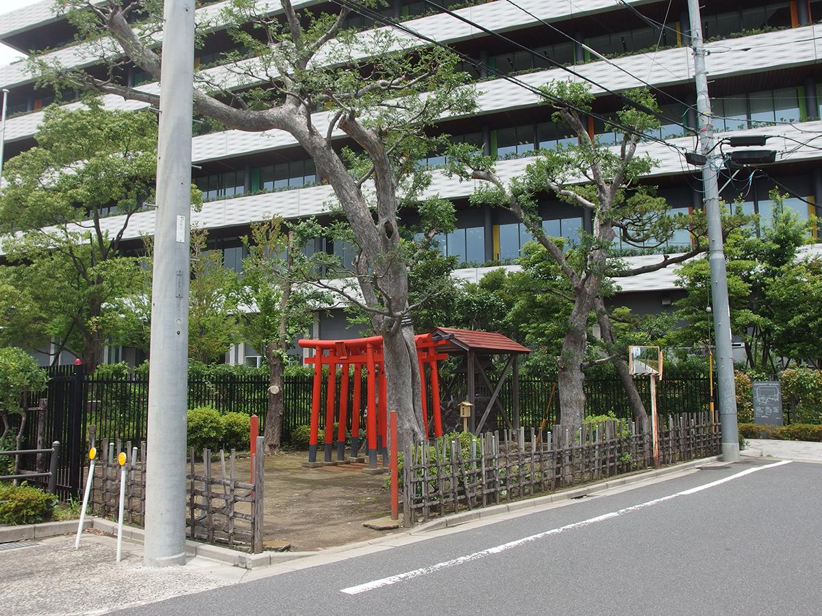 白浜稲荷神社写真