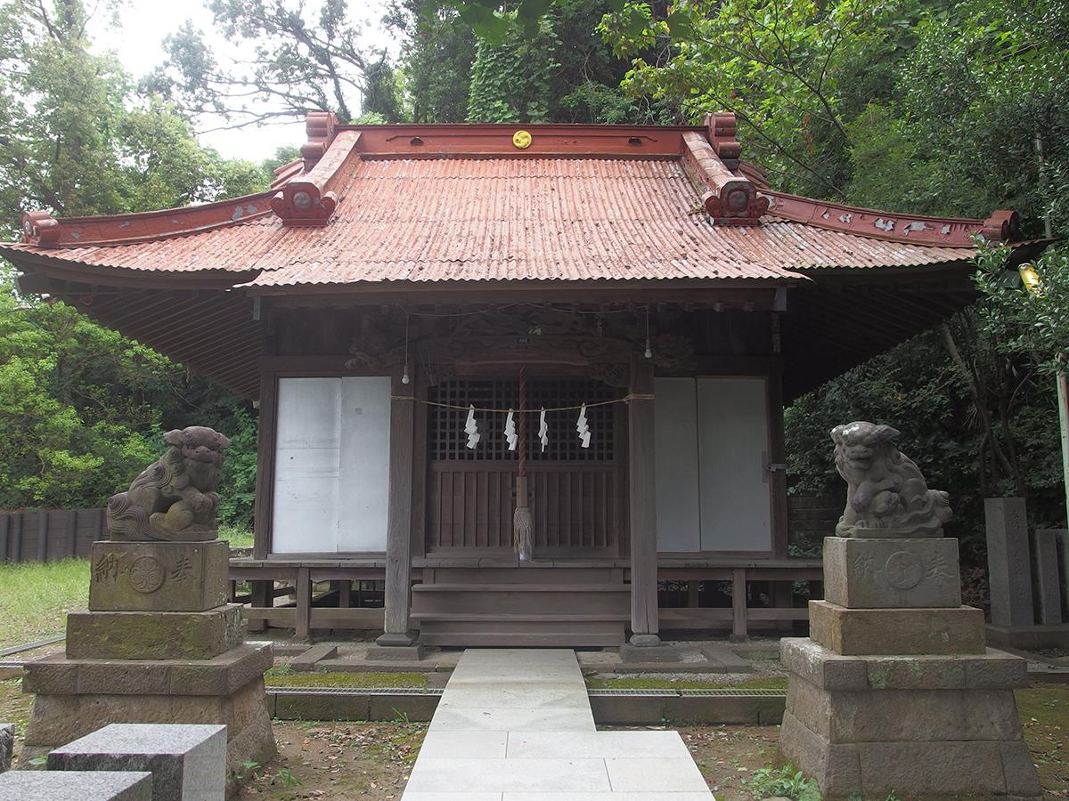駒岡神明社写真