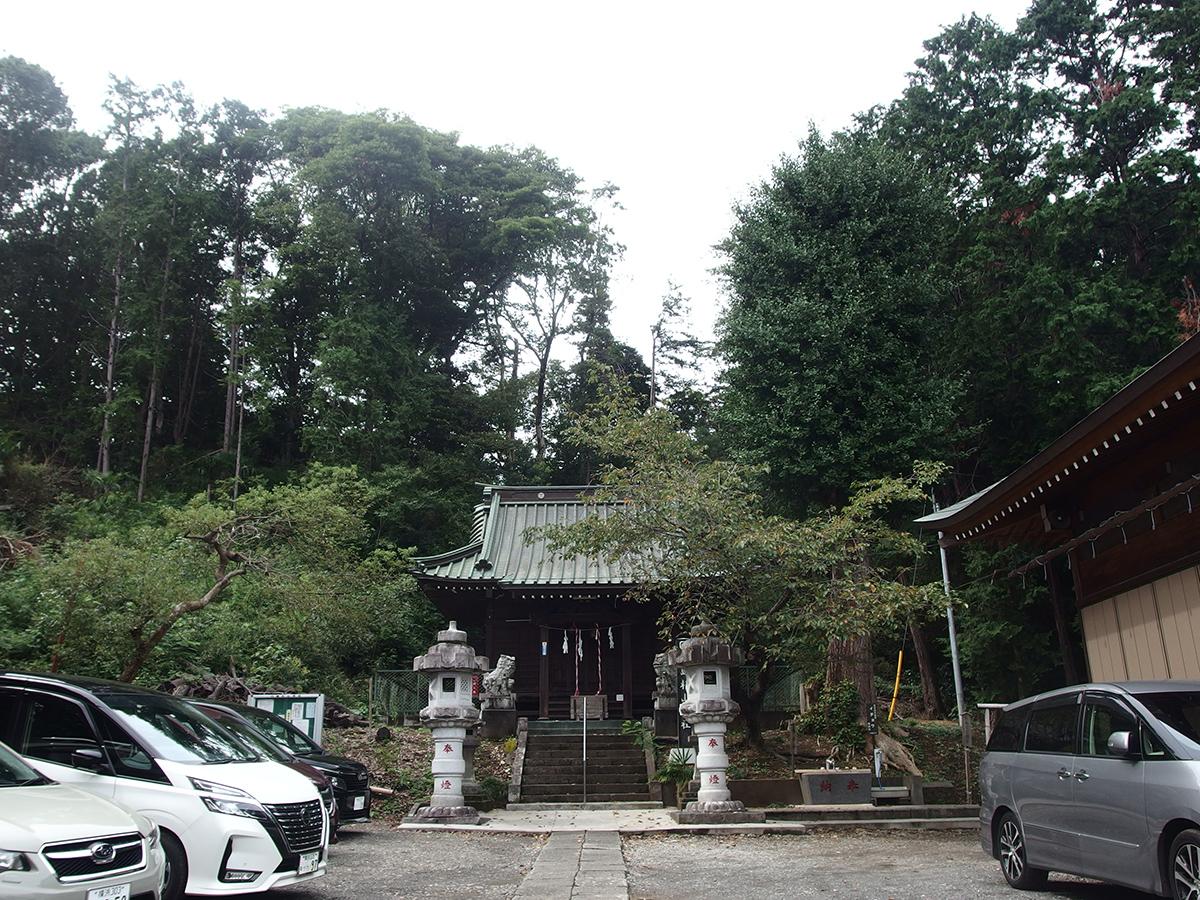 川島杉山神社写真