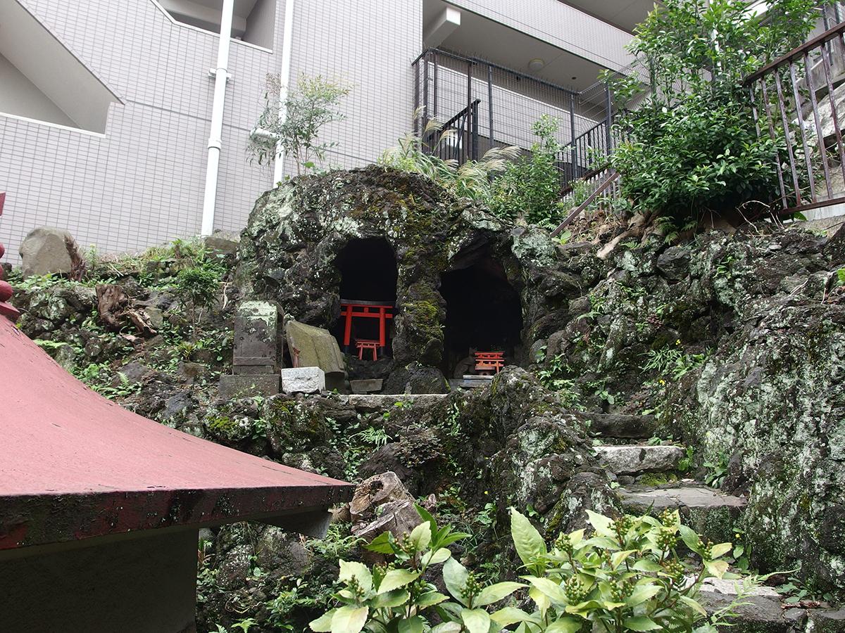 稲荷大明神(横浜市中区野毛町)写真