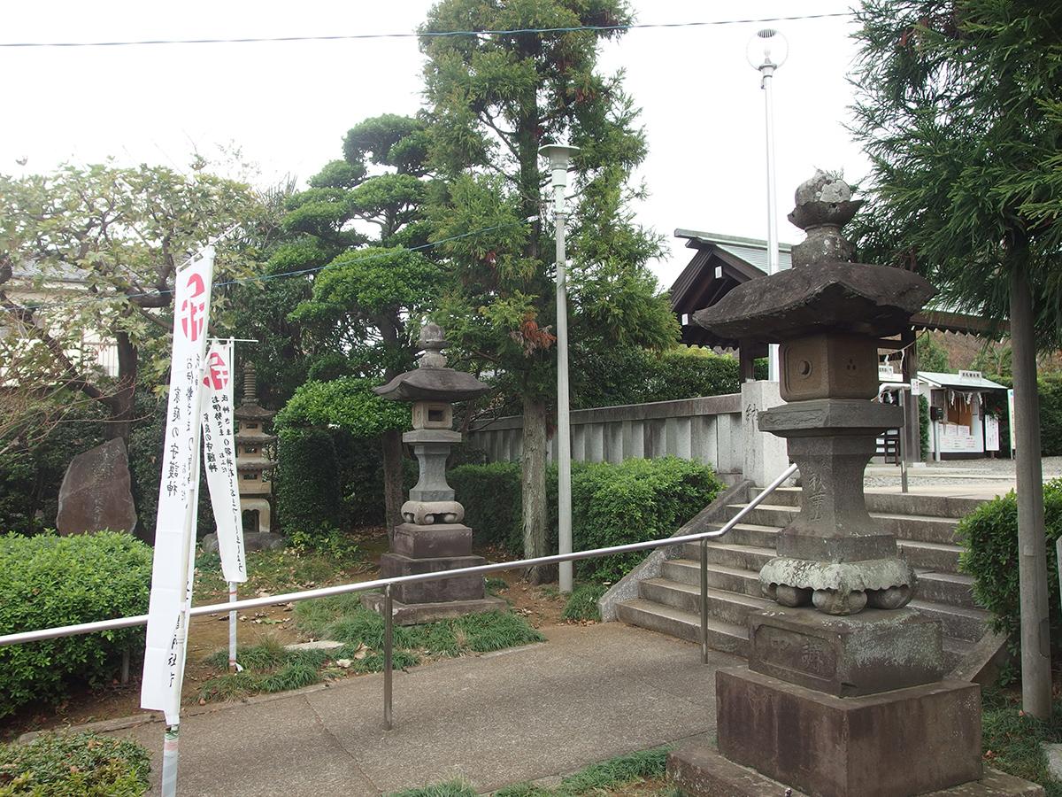 成瀬杉山神社写真